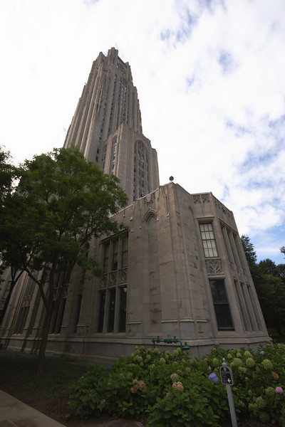 Cathedral of Learning at the University of Pittsburgh.