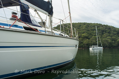 Moored, Refuge cove, Pittwater, NSW
