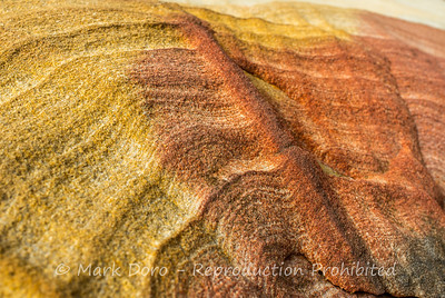 Sandstone detail, Refuge cove, Pittwater, NSW