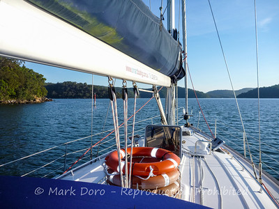 Underway, Pittwater, NSW