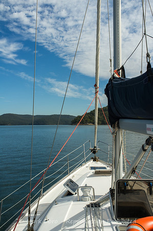 Pittwater sailing, Pittwater, NSW