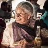 Elderly Lady and Her Corona (Vintage)