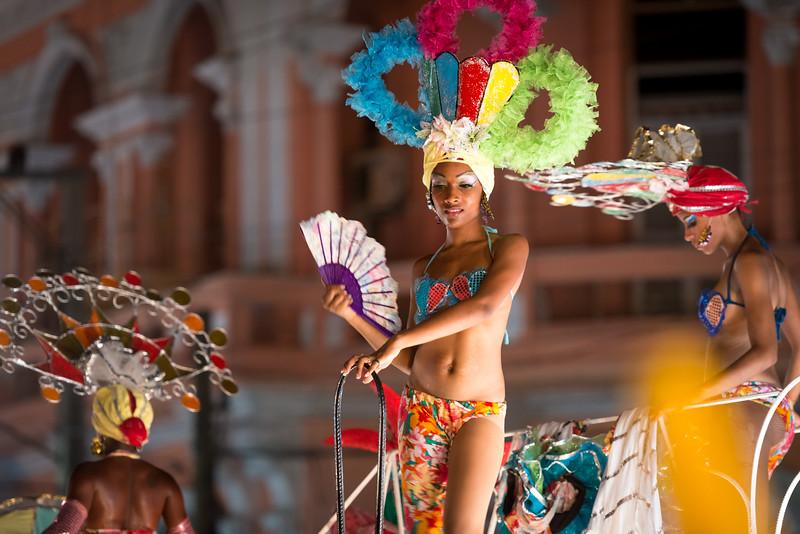 Carnaval Dancer in Santiago