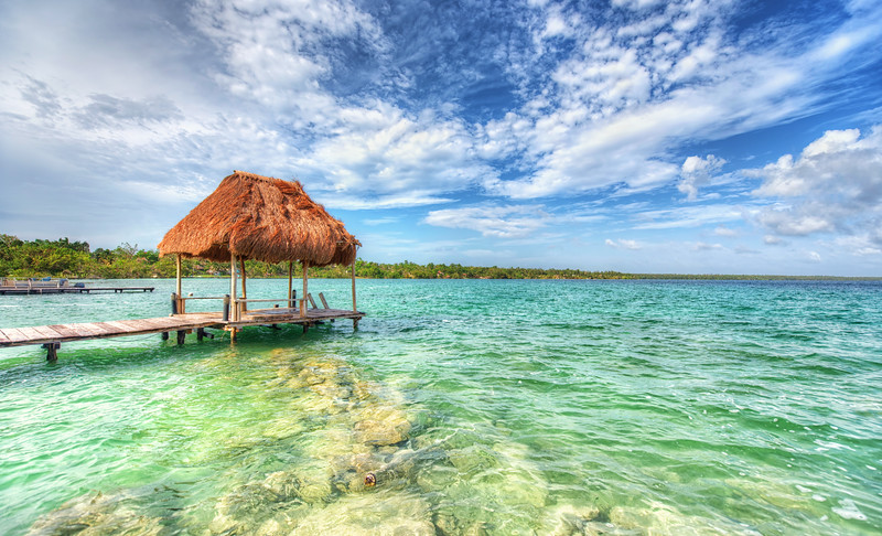 A Palapa in Bacalar