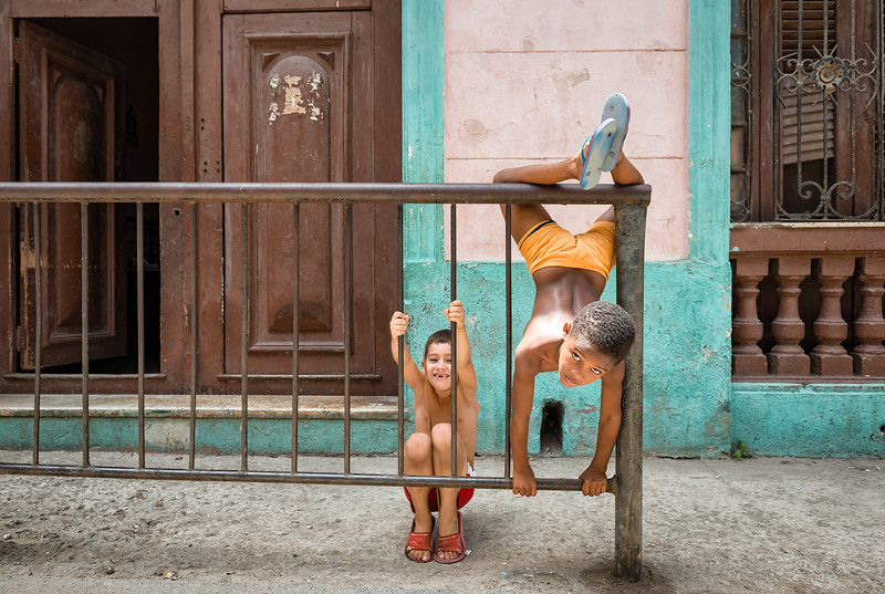 Mischievious Cuban Boys