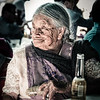 Elderly Lady and Her Corona (Antique)