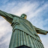 Gazing Up At Cristo Redentor