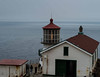 Modern navigation aids have rendered the Point Reyes Lighthouse obsolete save for its fog horn.