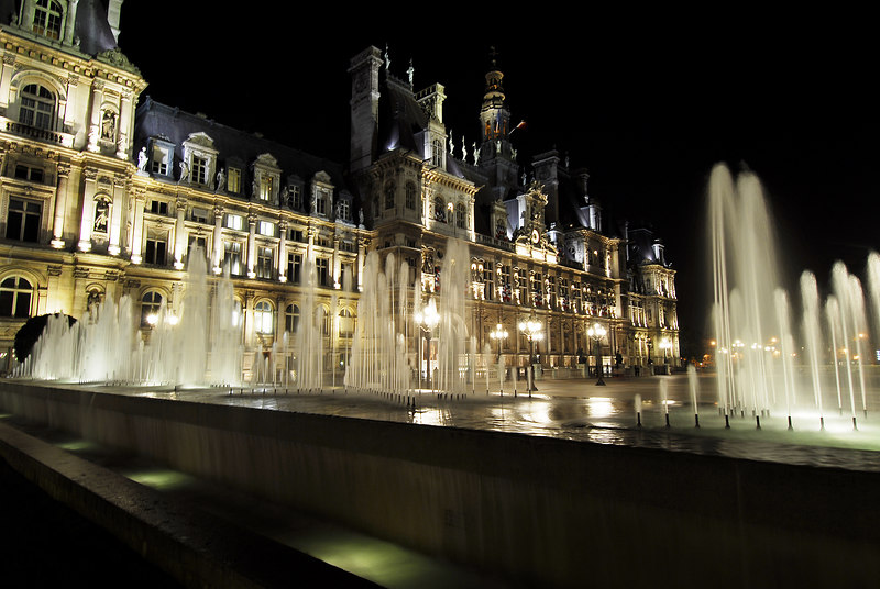 Hotel de Ville (City Hall), Paris, France
