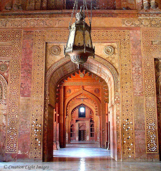 Fatehpur Sikri Hall Mosaics