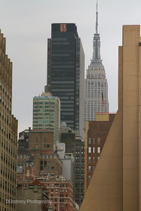 NYC skyline...from the High Line.