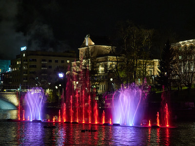 Reds and purples. Dancing Waters of Tammerekoski 2020  number 21