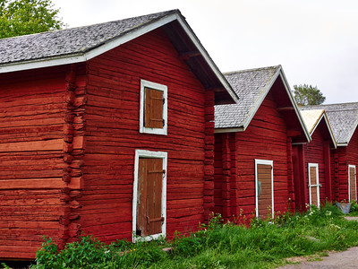 Old Salmon Storehouses