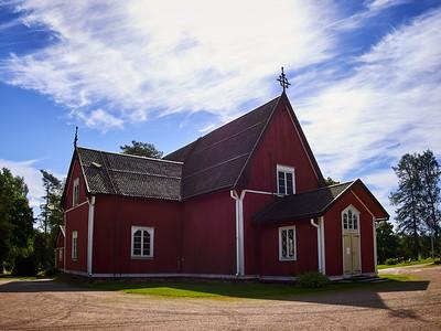 The Church of Kustavi