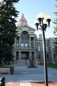 Capitol of Wyoming in Cheyenne