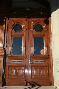 Side doors on capitol building -- Cheyenne, WY