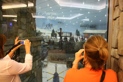 Indoor ski slope - Dubai Mall