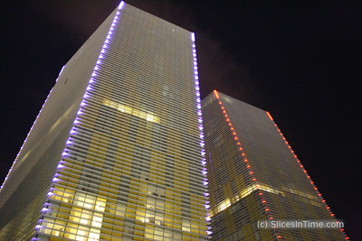 Veer Towers - City Center - Las Vegas, Nevada USA - January 5, 2010