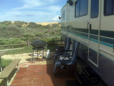 Our home at Pacific Dunes RV Resort in Oceano, CA