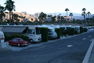 Happy Traveler RV Resort, Palm Springs, California,