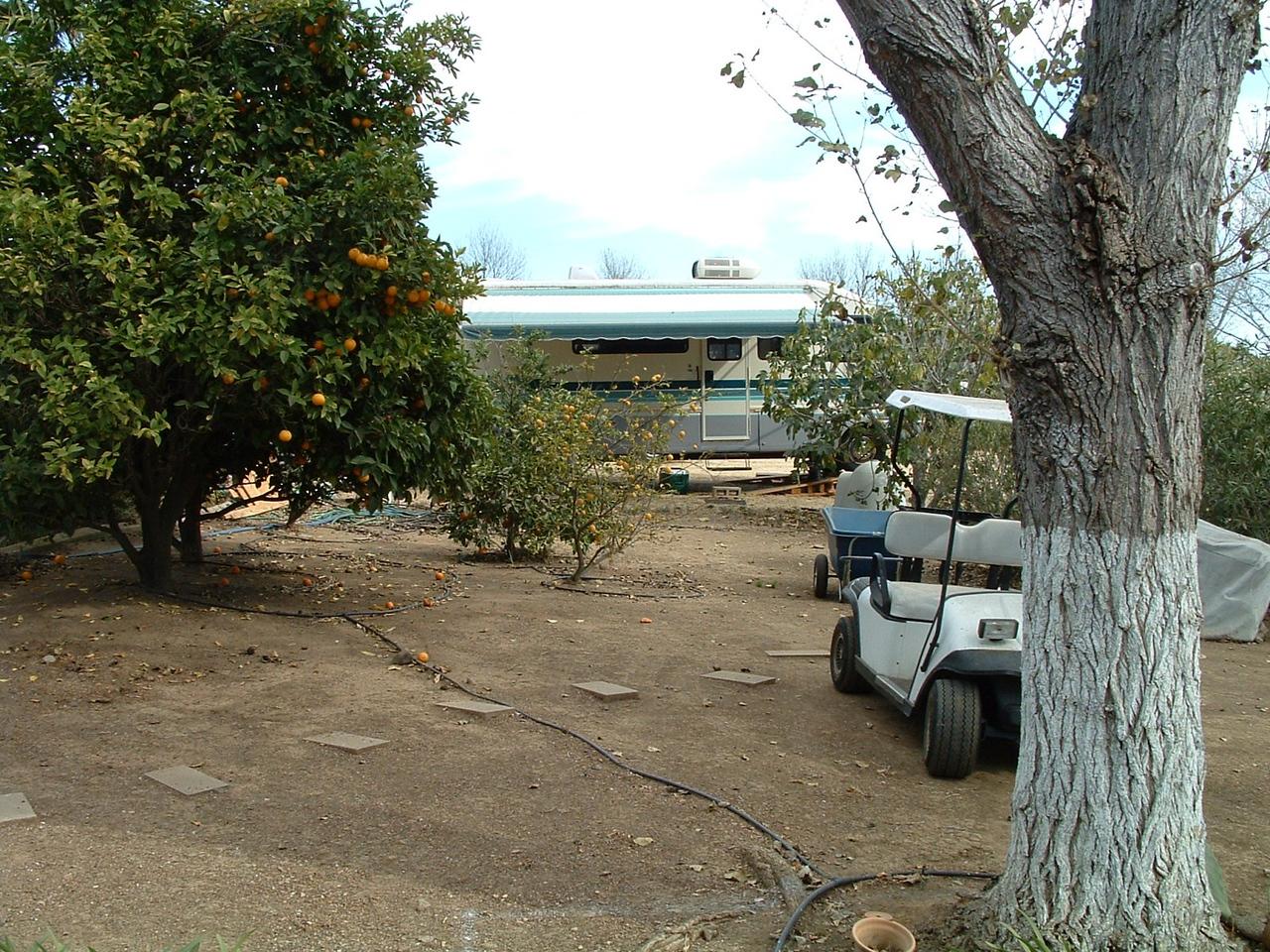 Bridgecreek Ranch, San Luis Obispo, California Motorhome