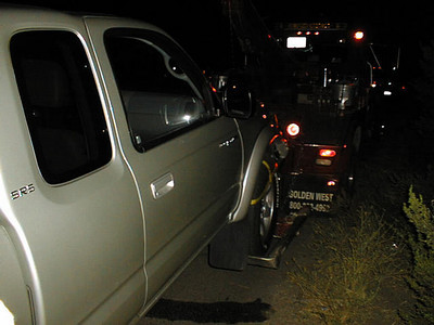 Truck Vs Deer - San Luis Obispo, CA Aug 28, 2002