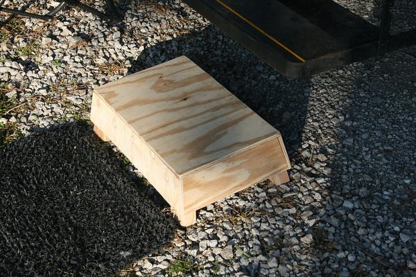 Wood project in Greenwood, NE -- Pullman Step