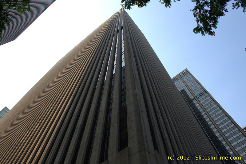 Exxon Building, 1251 Avenue of the Americas at 49th St, Rockefeller Center, New York, NY
