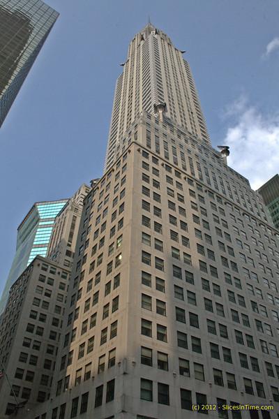 Chrysler Building, corner of 42nd St at Lexington Avenue, New York, NY