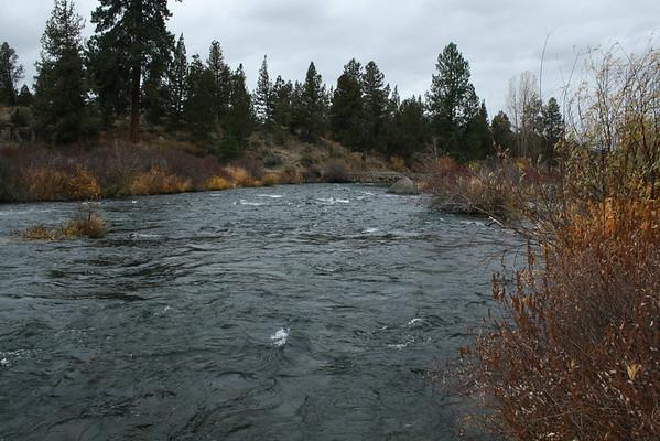 Dechutes River at Tumalo State Park, Bend, Oregon