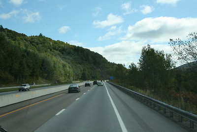 The drive from Vermont to Maine