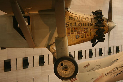 A day in Washington, DC - Spirit of St Louis, flown by Charles Lindburg across the Atlantic - May 17, 2008