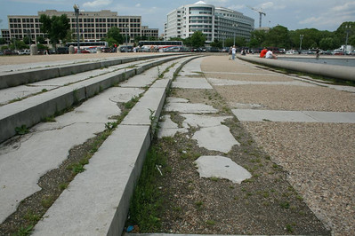 A day in Washington, DC - The decaying of the US Capitol - May 17, 2008