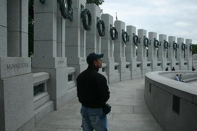 A day in Washington, DC - World War II Memorial - May 17, 2008