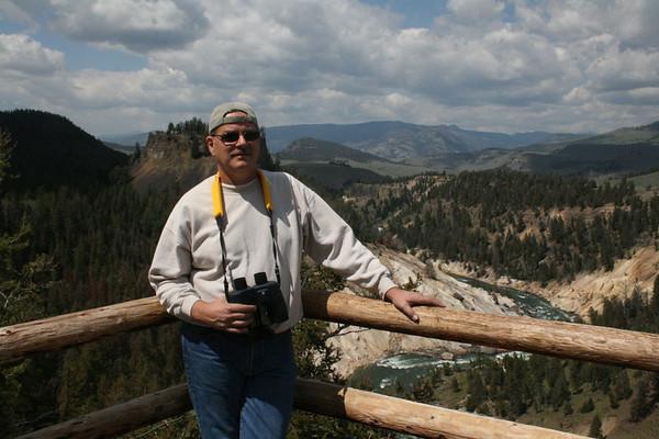 Gary at Grand canyon of Yellowstone