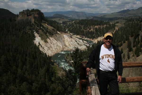 Joe at Grand Canyon of Yellowstone