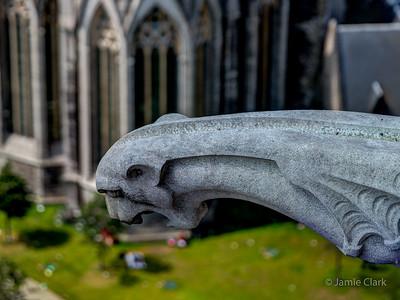 Gargoyle on Belfort. Ghent, Belgium
