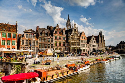 Handlesdok. Ghent, Belgium