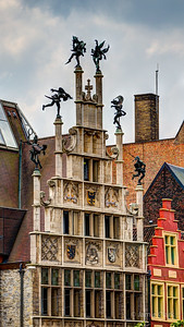 Playful rooftop. Ghent, Belgium