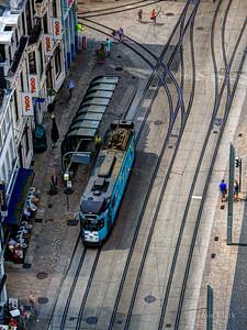 City Tram. Ghent, Belgium