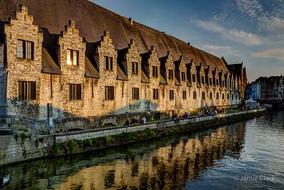 Old Fish Market. Ghent, Belgium