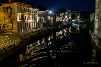 Heading home. Ghent, Belgium