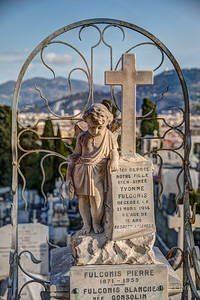 Cemetery on Castle Hill @ Nice, France, October 2017