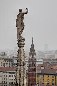 Duomo, Milan, Italy, October 2017