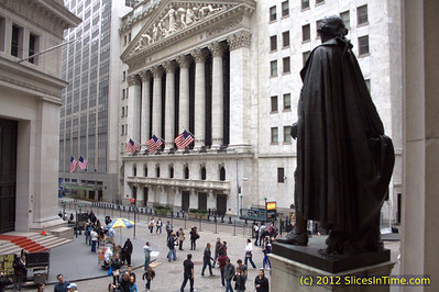 New York Stock Exchange on Wall Street