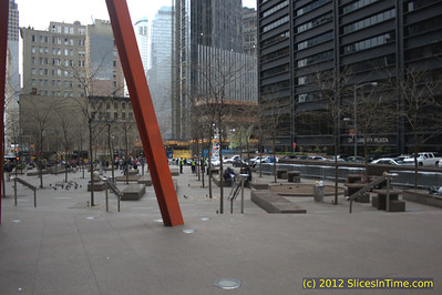 Zuccotti Park without OWS protesters