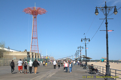 Visit to Coney Island - Memorial Day 2013