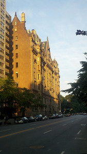 The Dakota Apartments on 72nd St where John Lennon was shot.