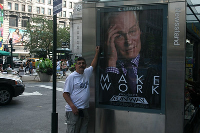 Joe and Project Runway poster