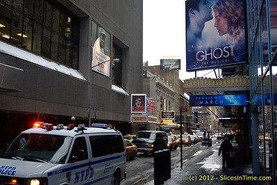 First Snow of the year, January 21, 2011, New York, NY